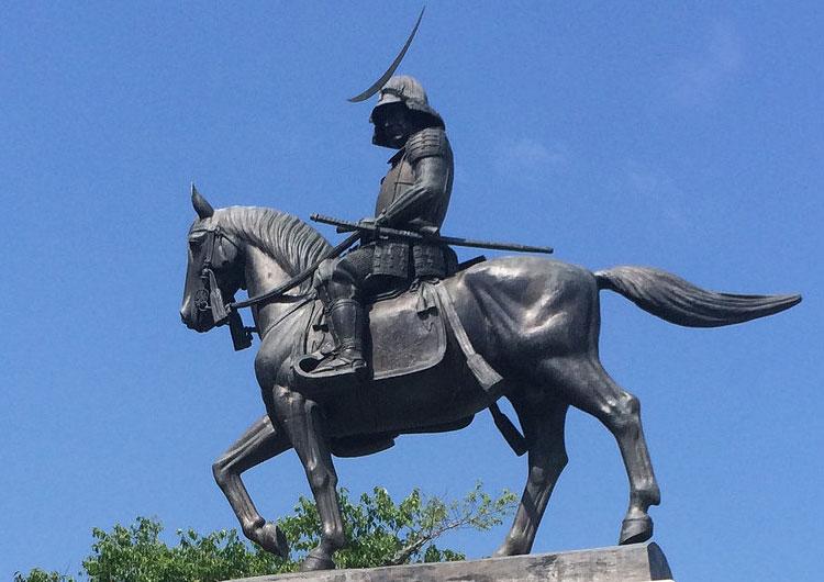 仙台城 伊達政宗像