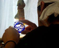 江戸切子グラスの制作風景をご紹介♪【動画あり】