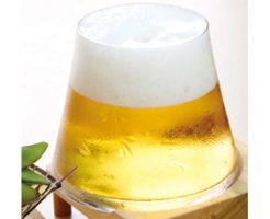 名入れもOK!富士山ビールグラス