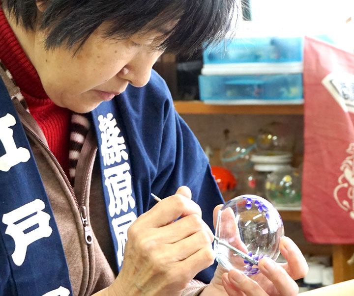 江戸風鈴の作り方