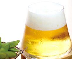 ビールを注ぐと富士山が!江戸硝子ビールグラス