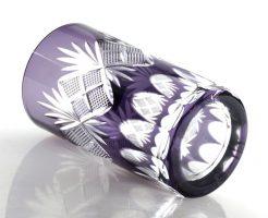 紫が美しい江戸切子タンブラー魚子【新着情報♪】