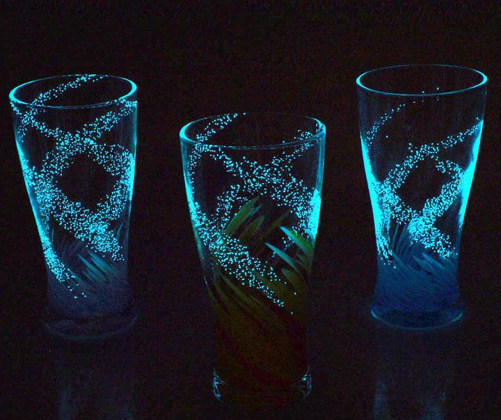 琉球ガラス海蛍