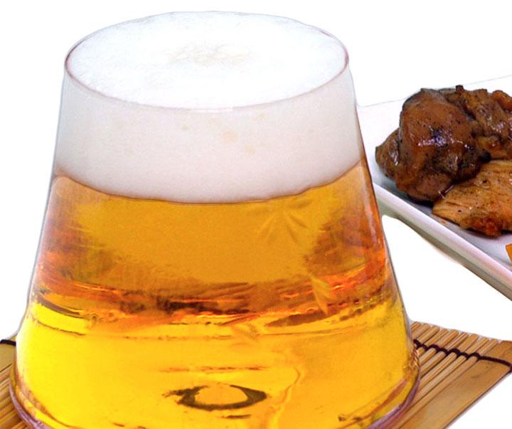 富士山ビールグラス