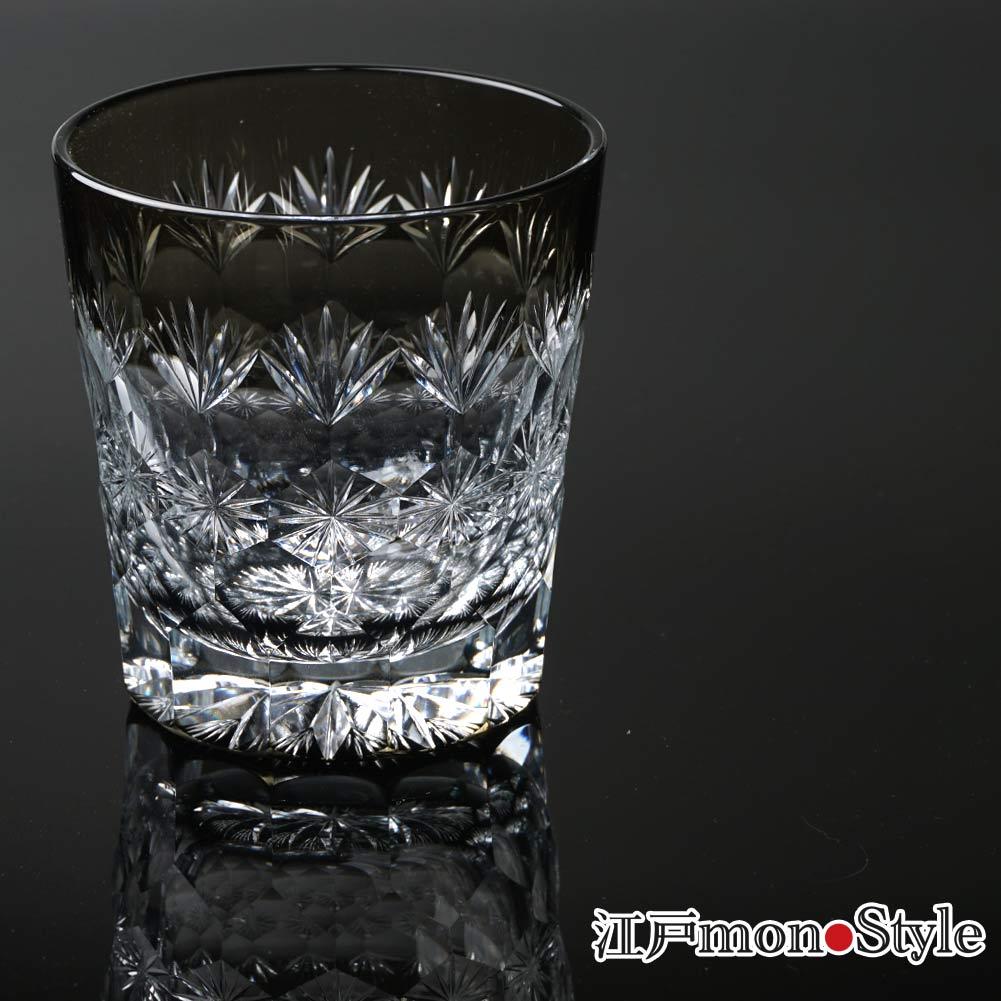 【新商品】江戸切子クリスタルグラスの薄黒シリーズを4種類をアップいたしました。