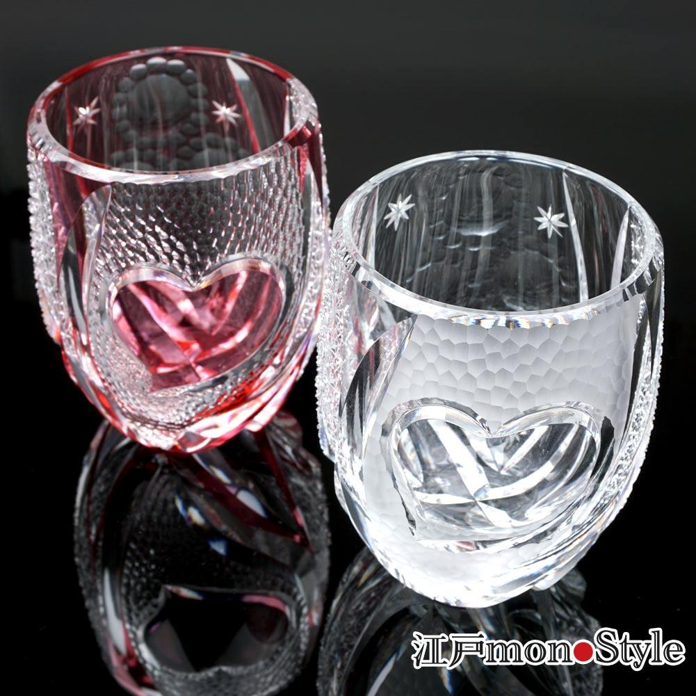 【新商品】江戸切子グラス(ロマンス) をUPいたしました。