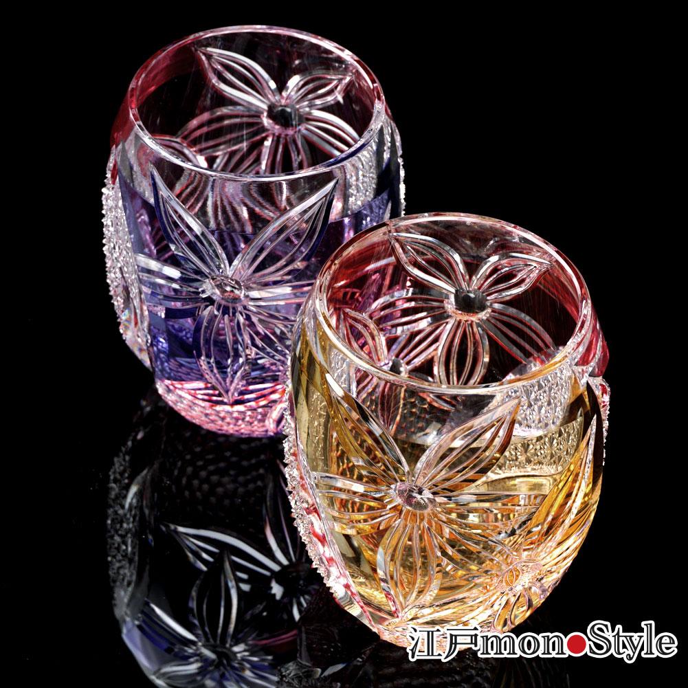 【新商品】江戸切子グラス(妖艶)をUPしました。