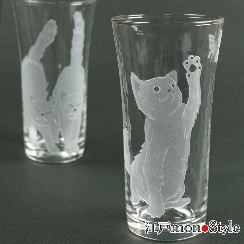 【再入荷】猫グラスを3種類再入荷しました!