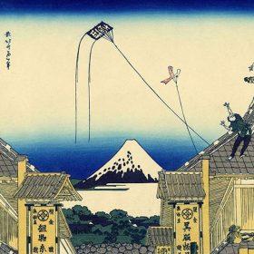 浮世絵に描かれた「日本橋三越」江戸時代の姿
