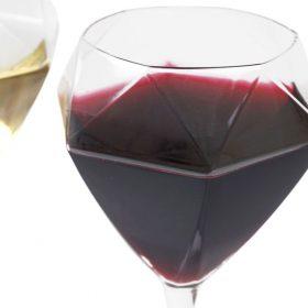 【新着情報♪】江戸硝子ダイヤモンドワイングラス