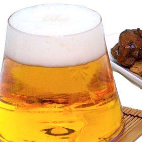 富士山ビールグラス ビールを注ぐと富士が現れる♪