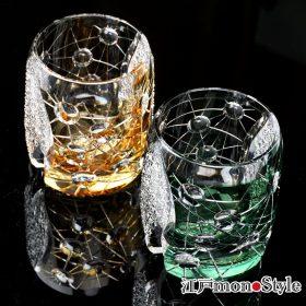 【新商品】江戸切子グラス(プラネット)をアップしました!
