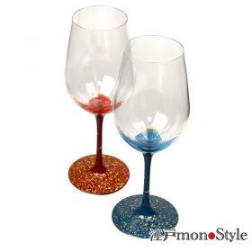 【再入荷】【秀衡塗】漆絵ワイングラス を再入荷しました!
