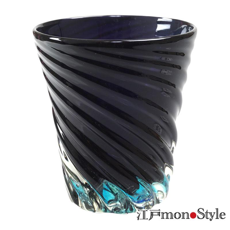 琉球ガラス 青の洞窟 フリーグラス