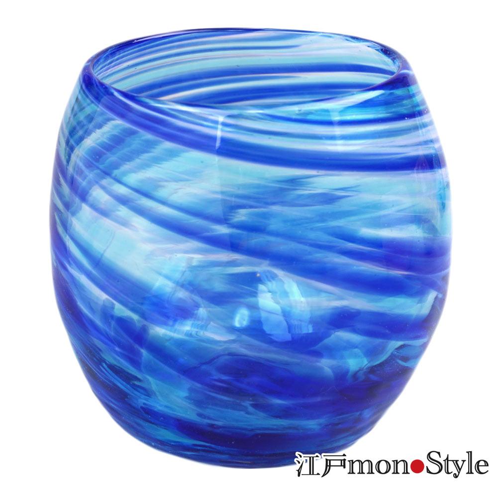 琉球ガラス タルグラス美ら海 マリンブルー
