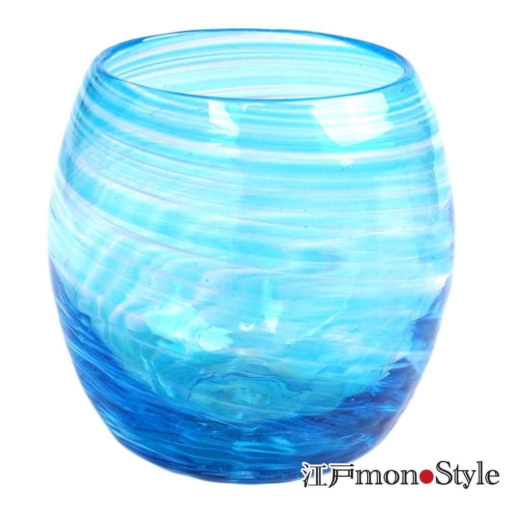 琉球ガラス タルグラス美ら海 水色