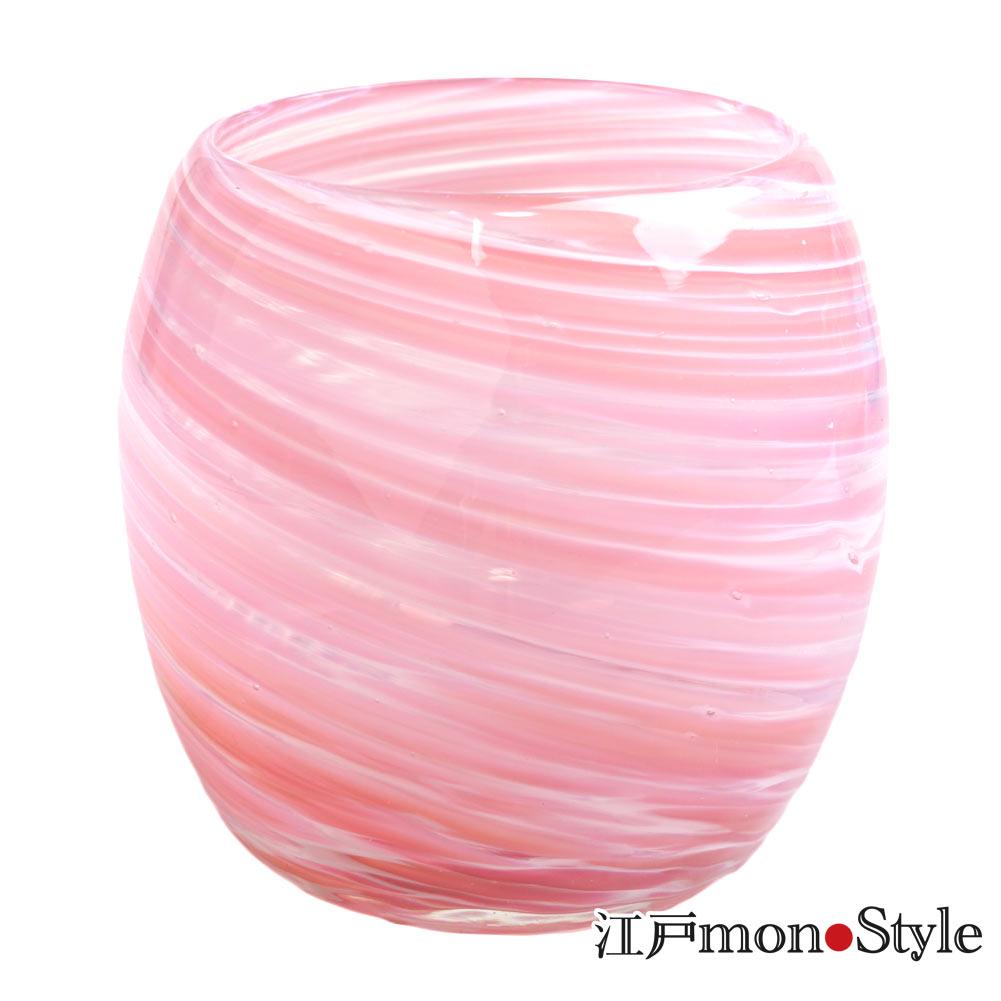 琉球ガラス タルグラス美ら海 ピンク